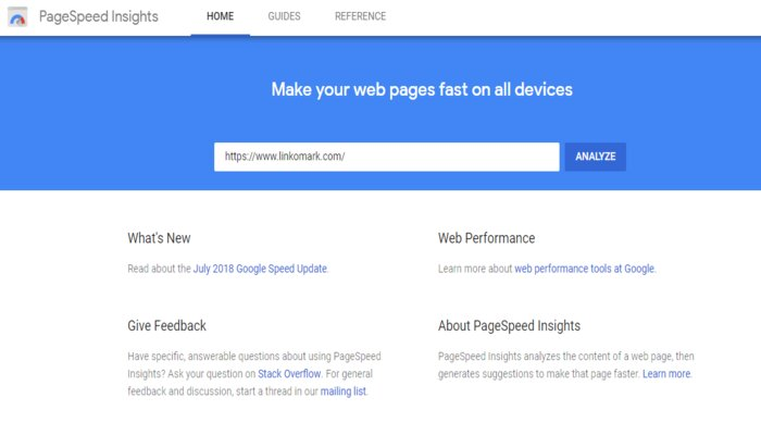 PageSpeed Insights - Website Speed Testing Tool